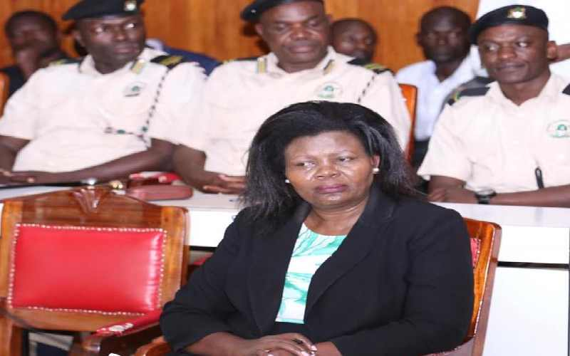 Kakamega county secretary caught pants down – Weekly Citizen