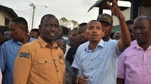 Ruto coast men in fierce fight over Sh2m handout