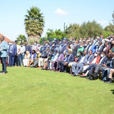 Names of 138 MPs who attended Ruto Karen Residence meeting