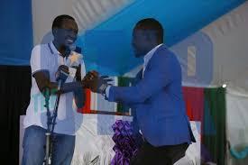 Arati and Osoro reconcile