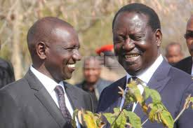 Please,reach out to DP Ruto! Kenyans urge Raila Odinga