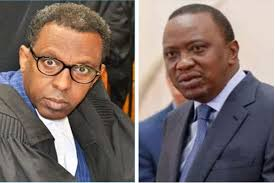 Uhuru to rule beyond 2022-Lawyer Ahmednasir