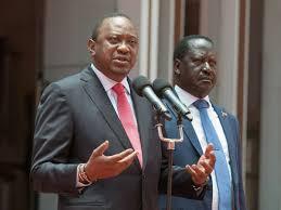 Uhuru, Raila differ over 2022 succession