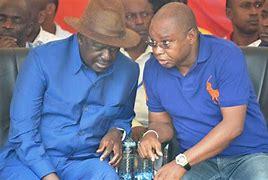 Amason Kingi avails himself in Raila's Meeting